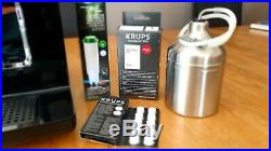 Krups EA893840 Evidence Connected Espresso Bean To Cup Coffee Machine Black