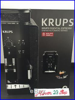 Krups EA 8108 fully automatic Espresso coffee machine black, from Germany