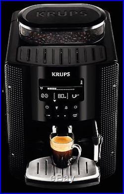 Krups EA 8150 Fully Automatic Espresso Coffee Machine 1450W Black GENUINE NEW