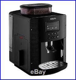 Krups Espresseria Automatic Bean to Cup Coffee Machine Maker Espresso 1.8L Black
