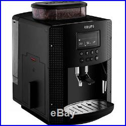 Krups Espresso Fully Automatic EA815040 Bean to Cup Coffee Machine Black Kitchen