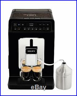 Krups Evidence Automatic Espresso Bean to Cup Coffee Machine, Black