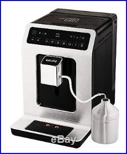 Krups Evidence EA893D40 Connected Bean to Cup Coffee Machine, Espresso, Metal