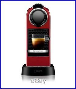 Krups XN741540 Citiz Nespresso Pod Coffee Machine Cherry Red 2 Year Guarantee