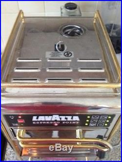 LAVAZZA ESPRESSO POINT MACHINE Stainless Steel COFFEE Machine With 16 Capsules