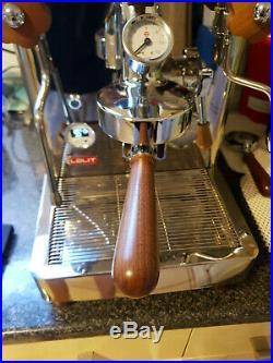 LELIT BIANCA PL162T coffee machine used