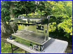 La Cimbali Selectron M29 2 Group Espresso Maker Coffee Machine GREAT CONDITION