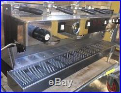 La Marzocco 4 Group Linea Coffee Espresso Machine With Pump / Handles