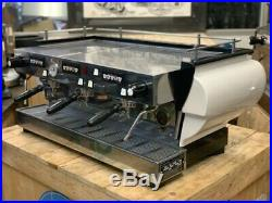 La Marzocco Fb70 3 Group High Cup White Espresso Coffee Machine Commercial Cafe