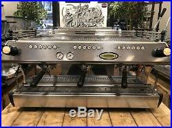 La Marzocco Fb80 3 Group Cream Espresso Coffee Machine Cafe Restaurant Barista