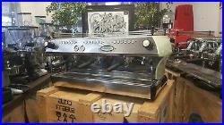 La Marzocco Fb80 3 Group Duck Egg Green Espresso Coffee Machine Commercial Cafe