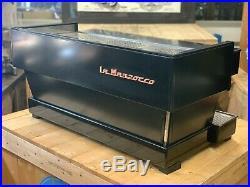 La Marzocco Linea Classic Matte Black 3 Group Espresso Coffee Machine Commercial