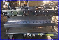 La Marzocco Rare 4 Group Linea Coffee / Espresso Machine With Handles