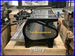 La Marzocco Strada Mp Manual Paddle 3 Group Black Espresso Coffee Machine Cafe