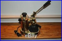 La Pavoni Copper/Brass Medello Professional Espresso Cappuccino Machine Coffee