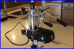 La Pavoni Europiccola Chrome Lever Espresso Coffee Machine 0.8 litre capacity