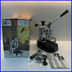 La Pavoni Europiccola Espresso Coffee machine Chrome With Chrome Base