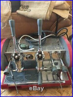 La Pavoni Lever Espresso Machine (dual fuel) gas/electric 2 Group. Now £860