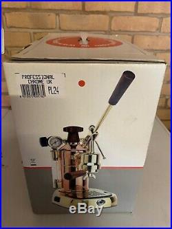 La Pavoni Professional EUROPICCOLA CROME PL Lever Espresso Coffee Machine