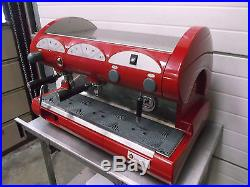 La Pavoni Semi Auto 2 Head Group Espresso Coffee Machine Double Station £800+V