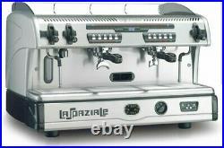 La Spaziale S5 2 Group espresso commercial coffee machine Black