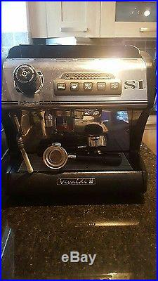 La spaziale singal group s1 vivaldi 2 comercial demeatic espresso coffee machine