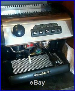La spaziale vivaldi 2 plumb in coffee espresso machine 1 group dual boiler