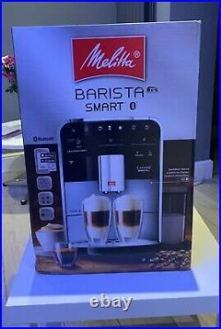 MELITTA Barista Smart TS Automatic Espresso Coffee Machine Stainless Steel NoRES