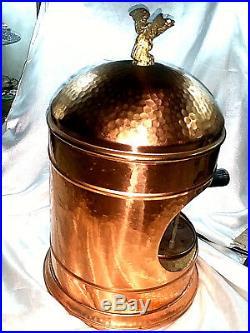 Macchina Caffe' Espresso Machine Coffee Victoria Arduino Rame Copper Vintage