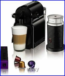 Magimix Nespresso Inissia Coffee Machine & Aeroccino Black 3 Year Guarantee