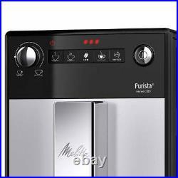 Melita Purista Fully Automatic Bean to Cup Espresso Coffee Machine Silver