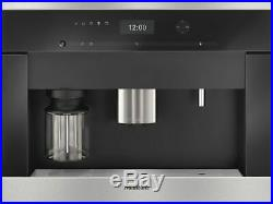 Miele CVA6401 Built-in Bean to cup coffee machine Clean stainless steel