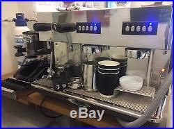 Monroc Control 2GR MA-C-2GR 2Group Commercial Coffee Espresso Cappucino Machine