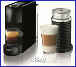 NESPRESSO by Krups Essenza Mini XN111840 Coffee Machine with Aeroccino Black