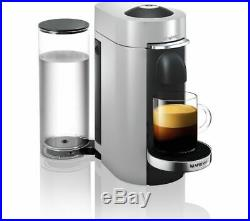 NESPRESSO by Magimix Vertuo Plus Coffee Machine with Aeroccino Silver Currys