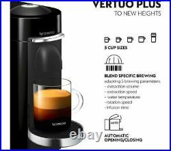 NESPRESSO by Magimix Vertuo Plus M600 Coffee Machine Piano Black Currys