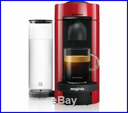 NESPRESSO by Magimix Vertuo Plus M600 Coffee Machine Piano Red Currys