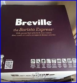 NEW Breville the Barista Express StainlessSteel Espresso Coffee Machine BES870XL