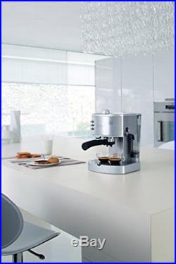 NEW Espresso Cappuccino Latte Coffee Maker Home Office Machine Stainless Steel
