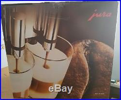 NEW Jura GIGA 5 ALU Aluminum Espresso Coffee Maker Machine Automatic 13623