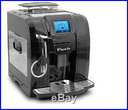 New Pronto Fully Automatic Cappuccino Coffee Espresso Machine Led Screen Black