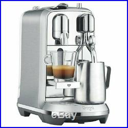 NEW Sage Nespresso Creatista Plus Pod Espresso Coffee Maker Machine Stainless