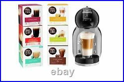 Nescafe Dolce Gusto De'Longhi Mini Me 0.8L 15 Bar 1500W Coffee Machine Bundle