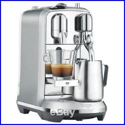 Nespresso By Sage Creatista Plus Espresso Coffee Pod Machine Stainless Steel