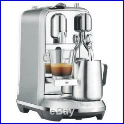 Nespresso Creatista Plus by Sage Pod Coffee Machine, Stainless Steel Silver