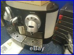 Nespresso Gemini CS220 cs 220 PRO espresso coffee machine inc £600 of capsules