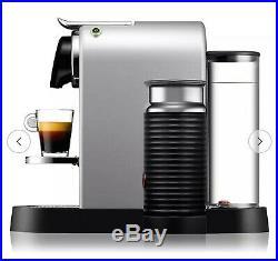 Nespresso by Krups Citiz Pod Coffee Machine CitiZ&Milk Brand New