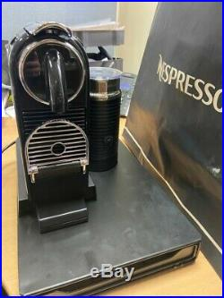 Nespresso by Magimix Citiz & Milk Coffee Machine Black New unboxed with drawer