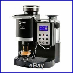 New Automatic Barista Espresso Machine Coffee Maker With Bean Grinder 2019