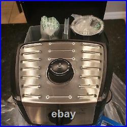 New! DeLonghi EC155 M Bar Espresso and Cappuccino Latte Machine Open Box Coffee
